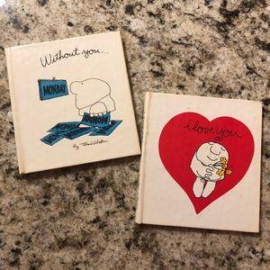 Vintage tiny  American Greetings books